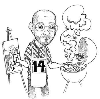 Caricature work