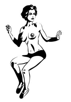 Stylized nude 1