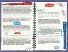 Outreach Brochure notebook illustration