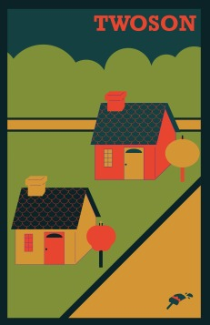 Twoson Poster